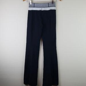 lululemon 4 pants black flare Herringbone